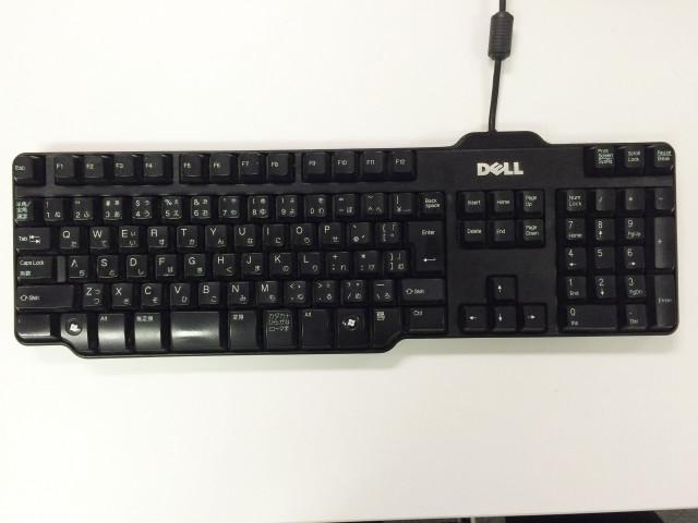 掃除する前にキーボードの写真を撮っておく