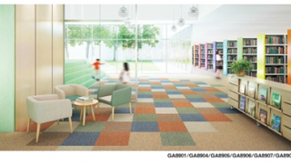 床の改装~タイル素材紹介①:タイルカーペット