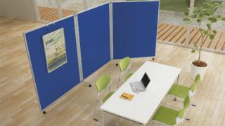 オフィスのユーティリティープレイヤー、ローパーティションの活用法