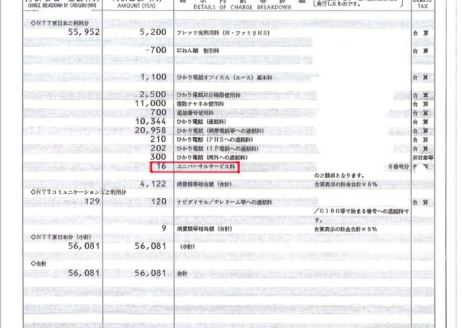 資料②_あなたの会社も払っている。「ユニバーサルサービス料」ってご存知ですか?