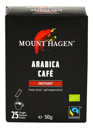 マウント ハーゲン オーガニックフェアトレード インスタントコーヒー