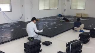【施工事例】200平米のOAフロア(フリーアクセスフロア)工事に密着取材!