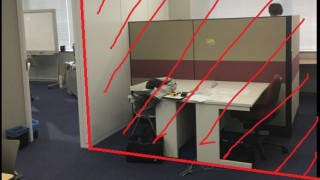 「壁の位置を変えたい!」というご要望にも応えます。オフィスのスチールパーティションの移設事例