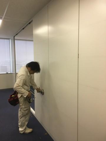 ③_【施工事例】スチールパーティションの移設工事をご紹介!!