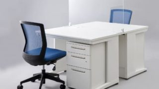 【オフィス・店舗での飛沫予防対策に】デスクスクリーンをご紹介