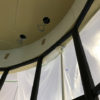 【アルミパーティションのR壁】施工事例