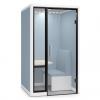【家具ショールーム見学 オカムラ】半オープンタイプの個室ブース スノーハット(SnowHut)