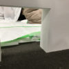 【LGS造作壁を塗装仕上げ・ネコちゃん用の開口部も作ったよ!】の施工事例