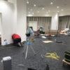 【OAフロアとタイルカーペット】施工事例