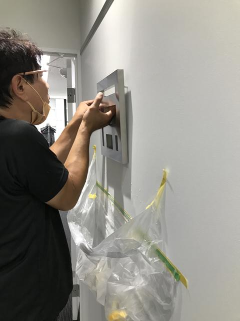 【SUS箱文字サイン】の施工事例